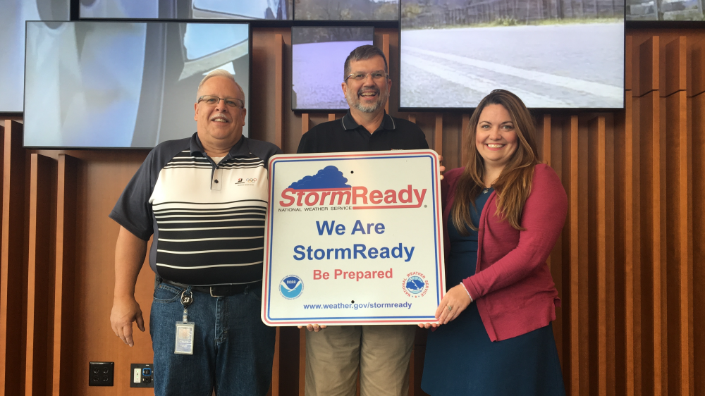 Bridgestone Americas Tower Nashville StormReady